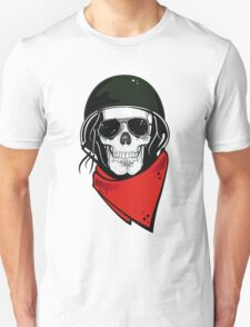 THE REBEL SKULL T SHIRT T-Shirt