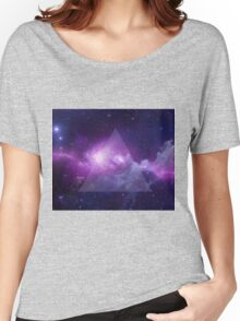 Galaxy Triangle Women's Relaxed Fit T-Shirt