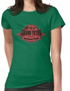 Grand Teton National Park, Wyoming Womens Fitted T-Shirt