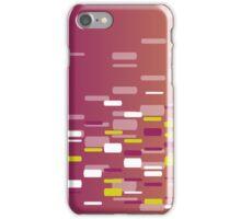 Digital DNA print 7 iPhone Case/Skin