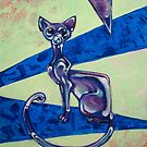 Glass Cat by Ellen Marcus