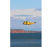 RAF Sea King Helicopter Photographic Print