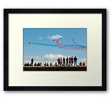 Red Arrows, Dawlish Framed Print