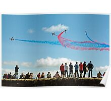 Red Arrows, Dawlish Poster