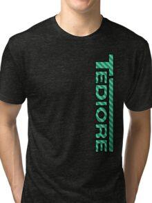 Tediore Carbon Logo Tri-blend T-Shirt