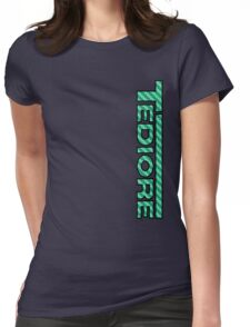 Tediore Carbon Logo Womens Fitted T-Shirt