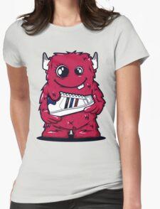 Red Monster shoes Art Design Monster T-Shirt