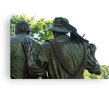 A Soldier's Hand Canvas Print