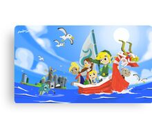 The Wind Waker Tribute Canvas Print