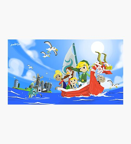 The Wind Waker Tribute Photographic Print