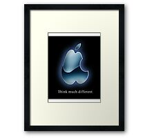 Think much different! Framed Print