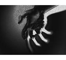 Ghostly Hand Photographic Print