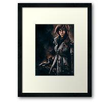 Lightning from Final Fantasy 13 Painting Framed Print