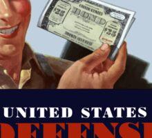 Wanted - Fighting Dollars - WW2 Sticker