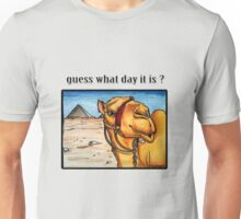 Guess what day it is? Unisex T-Shirt
