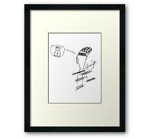 Meet Bang  Framed Print