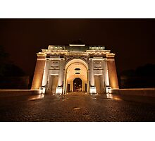Menin Gate by Night  Photographic Print
