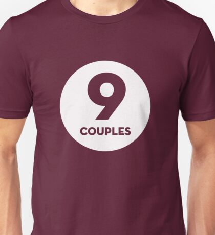 9 Couples - White T-Shirt
