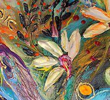 Original painting fragment 35 by Elena Kotliarker