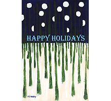 HAPPY HOLIDAYS 2 Photographic Print