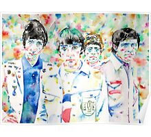 THE WHO - watercolor portrait Poster