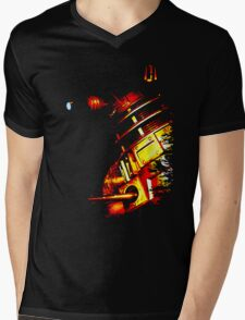 Dalek Beta – Bronze Mens V-Neck T-Shirt