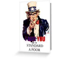 I Rate YOU! Greeting Card