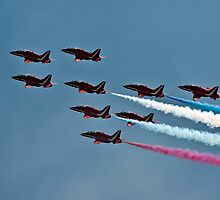 Red Arrows by GrahamWhite