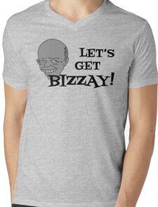 Let's Get BIZZAY! Mens V-Neck T-Shirt