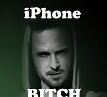 Jesse Pinkman iPhone Bitch by Krull