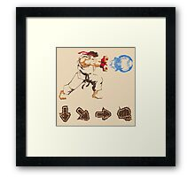 Know your Fighting Skills  Framed Print