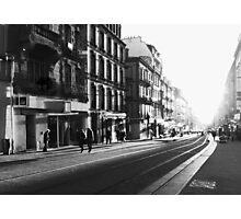 Brest - Rue Jean Jaurès. Photographic Print