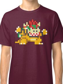 Super Mario Maker - Bowser Costume Sprite Classic T-Shirt