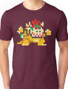 Super Mario Maker - Bowser Costume Sprite Unisex T-Shirt