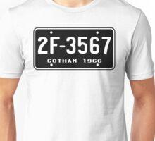 Bat Licence Plate Unisex T-Shirt