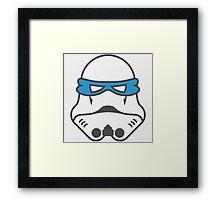 Storm Ninja Framed Print