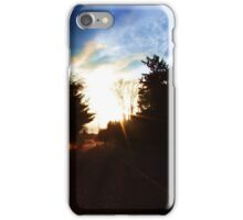 Breaking Through iPhone Case/Skin
