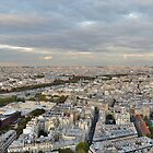 Eiffel Tower Panorama by Susan Dailey