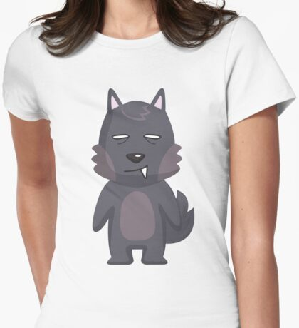 SMIRKY WOLF T SHIRT T-Shirt