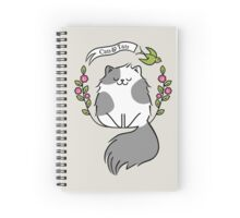 Cats And Tats  Spiral Notebook