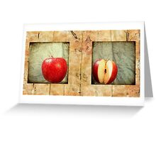 Frame of Reference Greeting Card