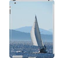 Sailboat on Puget Sound iPad Case/Skin