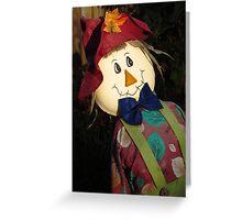 Designer Scarecrow Greeting Card