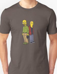 Walter & Jesse as Simpsons T-Shirt