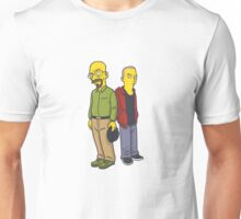 Walter & Jesse as Simpsons Unisex T-Shirt