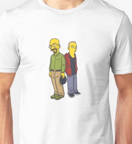 Walter & Jesse as Simpsons Unisex T-Shirt