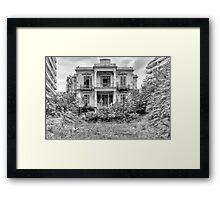 The Salem Mansion v4 Framed Print