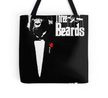 three beards Tote Bag