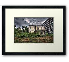 The Salem Mansion v5  Framed Print