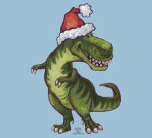 Tyrannosaurus Christmas Kids Tee
